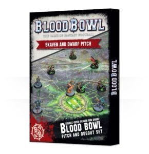 Blood Bowl Skaven / Dwarf-Spielfeld Pitch - Games Workshop