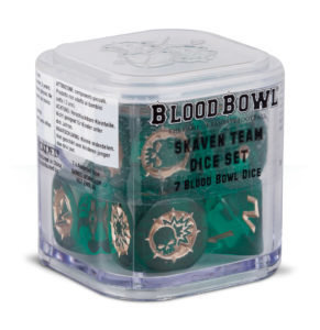 Blood Bowl Skaven-Würfel Dice - Games Workshop