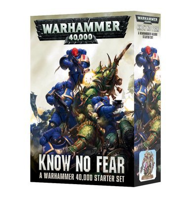 WARHAMMER 40000: Know no Fear (ENGLISH) - Starter - Games Workshop