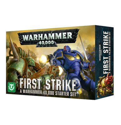 WARHAMMER 40000: ERSTSCHLAG (DEUTSCH) First Strike - Starter (8. Edition) - Games Workshop