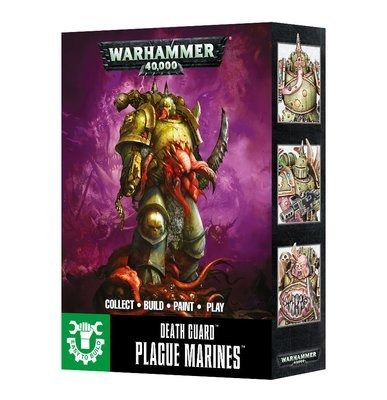 EASY TO BUILD DEATH GUARD PLAGUE MARINES - Warhammer 40.000 - Games Workshop