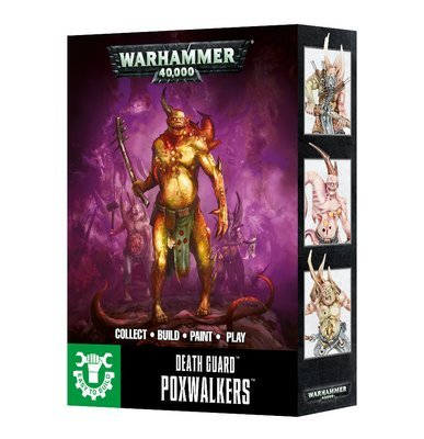 EASY TO BUILD DEATH GUARD POXWALKERS - Warhammer 40.000 - Games Workshop