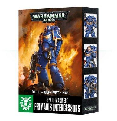 EASY TO BUILD SPACE MARINES PRIMARIS INTERCESSORS  - Warhammer 40.000 - Games Workshop