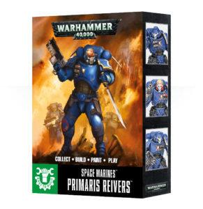 EASY TO BUILD SPACE MARINES PRIMARIS REIVERS - Warhammer 40.000 - Games Workshop