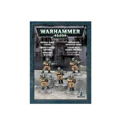 STOSSTRUPPEN VON CADIA (Astra Militarum Cadians) - Warhammer 40.000 - Games Workshop