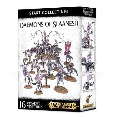 START COLLECTING! DAEMONS OF SLAANESH - Warhammer Age of Sigmar - Games Workshop