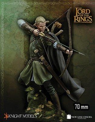 Legolas - Knight Models 70mm