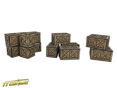 Warehouse Boxes - TTCombat - Kingsley