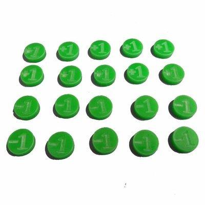 +1 / -1 Counters - Grün