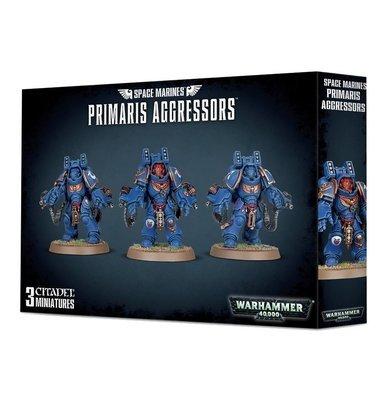 SPACE MARINES PRIMARIS AGGRESSORS - Warhammer 40.000 - Games Workshop