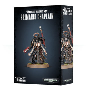 SPACE MARINES PRIMARIS CHAPLAIN - Warhammer 40.000 - Games Workshop