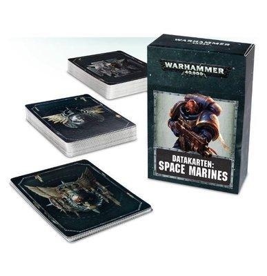 Datakarten: Space Marines - Warhammer 40.000 - Games Workshop