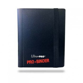 UP Ultra Pro - Pro-Binder - 4-Pocket Portfolio (160) - Black - Sichtmappen - Heft