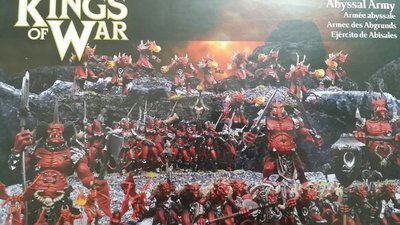 Abyssal Army - Kings of War - Mantic Games