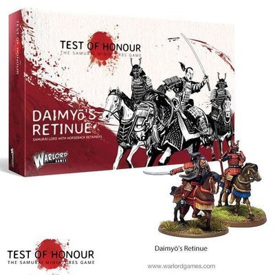 Test of Honour Daimyo's Retinue - Warlord Games