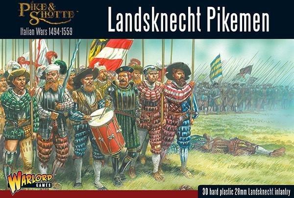 Landsknechts Pikemen - Pike & Shotte - Warlord Games