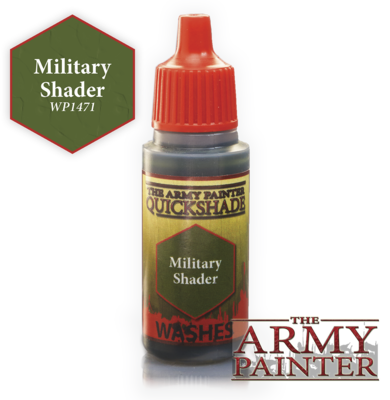 Military Shader Ink Wash - Army Painter Warpaints