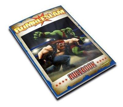 RUMBLESLAM Wrestling Rulebook - Regelbuch