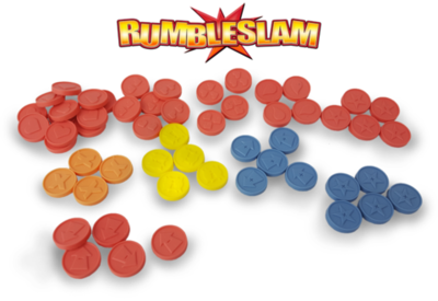 RUMBLESLAM Deluxe Counters and Tokens