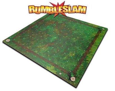 RUMBLESLAM Wrestling Grassy Mat - Matte