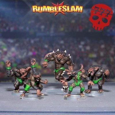 Furry Fury - RUMBLESLAM Wrestling