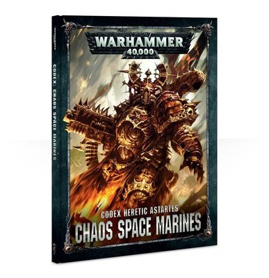 CODEX: CHAOS SPACE MARINES 2 (HB ENGLISH) - Warhammer 40.000 - Games Workshop