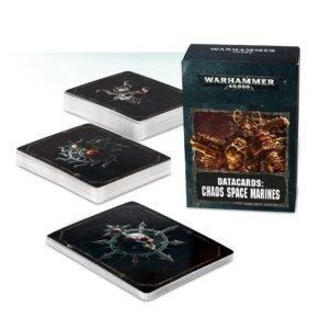 Datacards: CHAOS SPACE MARINES 2 (ENGLISH) - Warhammer 40.000 - Games Workshop