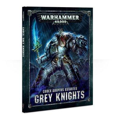 CODEX: GREY KNIGHTS (HB DEUTSCH) - Warhammer 40.000 - Games Workshop