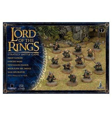 MO: Dwarf Rangers - Lord of the Rings Hobbit- Games Workshop