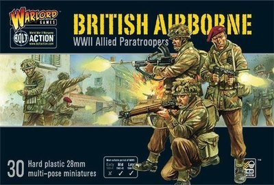 British Airborne WWII Allied Paratroopers (30) - British - Bolt Action