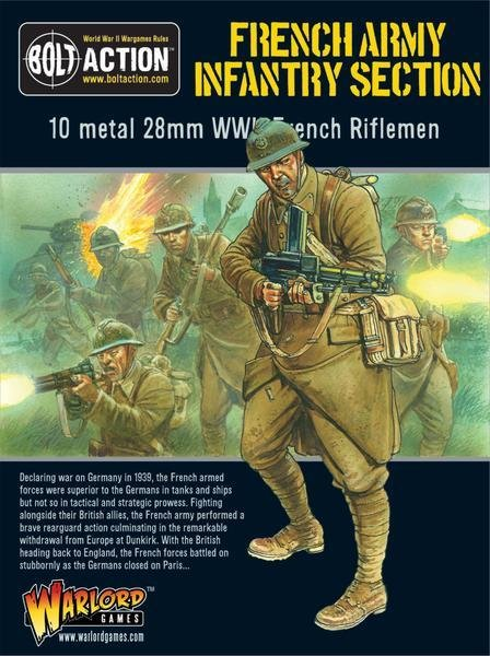 French Infantry Section - British - Bolt Action