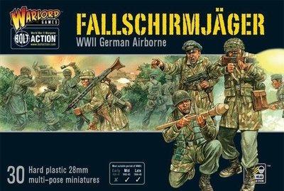 Fallschirmjager (Plastic Box) German Airborne - Bolt Action