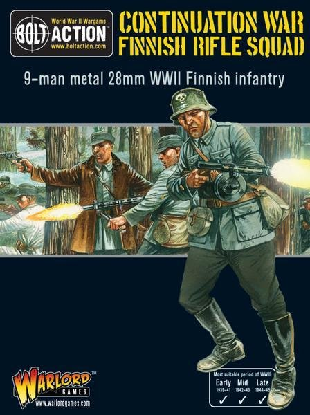 Finnish Rifle Squad (Infantry) - Allies - Bolt Action