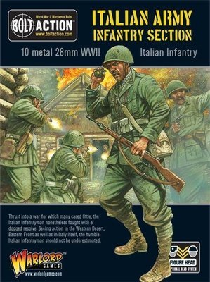 Italian Army Infantry Section - Allies - Bolt Action