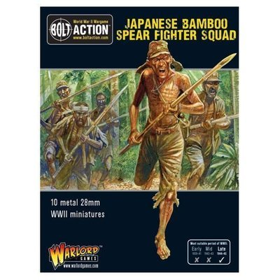 Japanese Bamboo Spear Fighter squad - Allies - Bolt Action