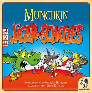 Munchkin - Jäger des Schatzes - Pegasus Spiele