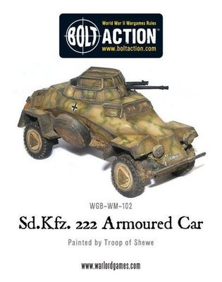 Sd.Kfz 222 Armured Car - German -Bolt Action