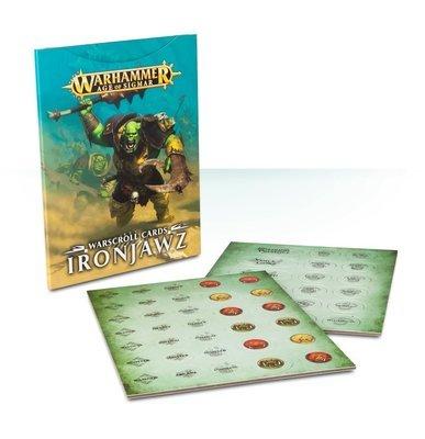 Warscroll Cards: IRONJAWZ (SB) (DEUTSCH) - Games Workshop