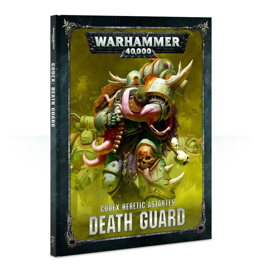 CODEX: DEATH GUARD (HB ENGLISH) - Warhammer 40.000 - Games Workshop