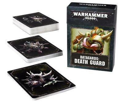 Data Cards: DEATH GUARD (HB DEUTSCH) - Warhammer 40.000 - Games Workshop