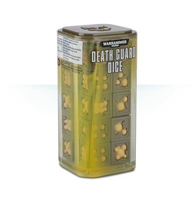 Death Guard Dice - Warhammer 40.000 - Games Workshop