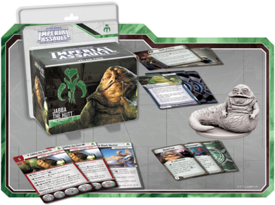 Jabba der Hutt (Schurken) - Star Wars: Imperial Assault - deutsch