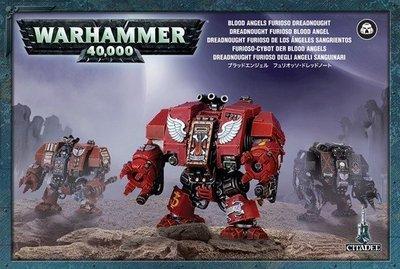 FURIOSO-CYBOT DER BLOOD ANGELS Blood Angels Furioso Dreadnought - Warhammer 40.000 - Games Workshop
