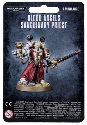 BLOOD ANGELS SANGUINARY PRIEST - Warhammer 40.000 - Games Workshop