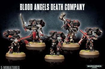 BLOOD ANGELS DEATH COMPANY - Warhammer 40.000 - Games Workshop