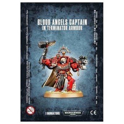 MO: BLOOD ANGELS CAPTAIN: TERMINATOR ARMOUR - Warhammer 40.000 - Games Workshop