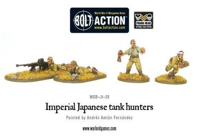 Imperial Japanese Army Tank Hunters - Bolt Action - Warlord Games
