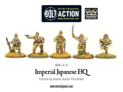 Imperial Japanese Army HQ - Bolt Action - Warlord Games