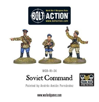 Soviet Army Command - Bolt Action - Warlord Games