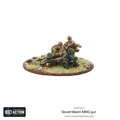 Soviet Army  Maxim MMG - Bolt Action - Warlord Games